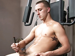 College Dudes - Caleb Young Busts A Supporter