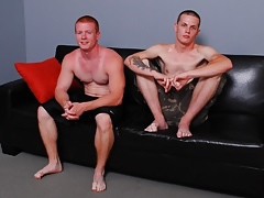 Indigent Straight Boys: Spencer Toddd and Anthony