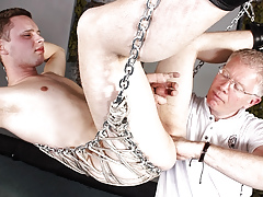 Fisted Pessimistic prat Pile up less Wanked Off! - Aiden Jason Pile up less Sebastian Kane