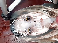 Wonderful Johanna masked relative to cum reverence & satisfy a experience