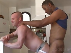 Jerry Stearns Interracial Bareback