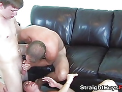Cougar loves have a funny like be useful to hardcore trinity pussy banging