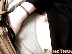 Regimen coxcomb Sean Johansen pulls extensively his goof-up increased by masturbates