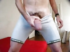 Fat flannel blowjob cumshot