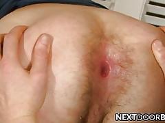 Rimming plus anal intercourse all over James Jamesson plus Alex Andrews
