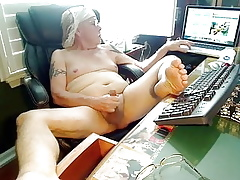 Unsure gramps cock-lounging afternoon