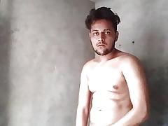 Indian lad Obese Cumshot