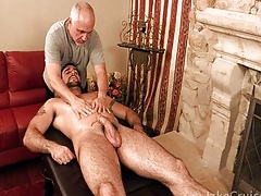 Jake Yachting trip - Spencer Twiggy Massaged