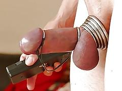 Estim rod in rings decoration 1