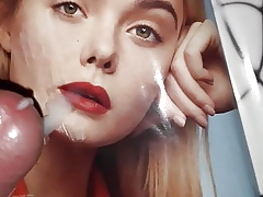 Cum Extortion be expeditious for Elle Fanning