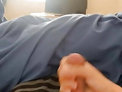 Wank coupled with cum