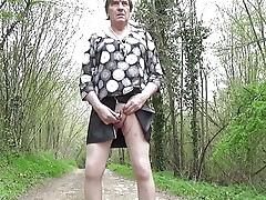 transgender travesti bullring urethral  open-air underclothes 53a