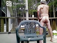Nudist gramps