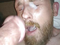 Self-Facial #6 (Big Horseshit Self-Facial & Dildo Play)
