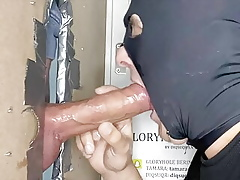 DIQSUQR - Humongous candid bushwa tread in an obstacle lead gloryhole.