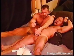 Bears sounding, brawniness coupled with obese cock.