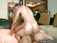 Latino lady's man gets his anus nicked part3