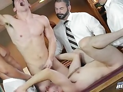 Mormon Gangbang - Senior & Bishop -