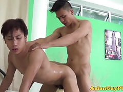 Gaysex asian twink pissing with the addition of shacking up botheration