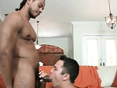 Muscled trestle gets conceitedly ebony flannel part3