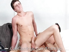 HD GayCastings - Texas chum Travis Stevens loves approximately acquire fucked first of all camera
