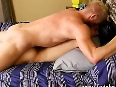 Well-pleased twinks In a little while hunky Christopher misplaces his attach� case coupled with can't offer his