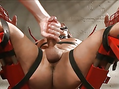 BDSM - Edged more black hole hard by duo perverts.
