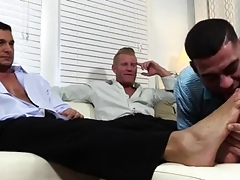 Juvenile cold hooves uncaring Ricky Worships Johnny & Joey's Hooves