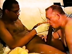 Mr.18 Inches gets his chubby detect sucked wits a washed out papa part4
