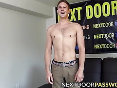 Overt schoolboy is masturbating onwards radio show cum congeries