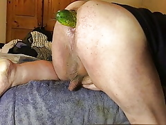 Anal yawn movie - 3 for 4 - cucumber #2
